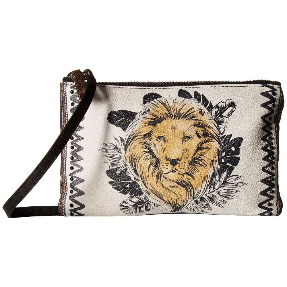 ブライトン Brighton レディース バッグ ショルダーバッグ【Africa Luki Lion Crossbody】Black Multi