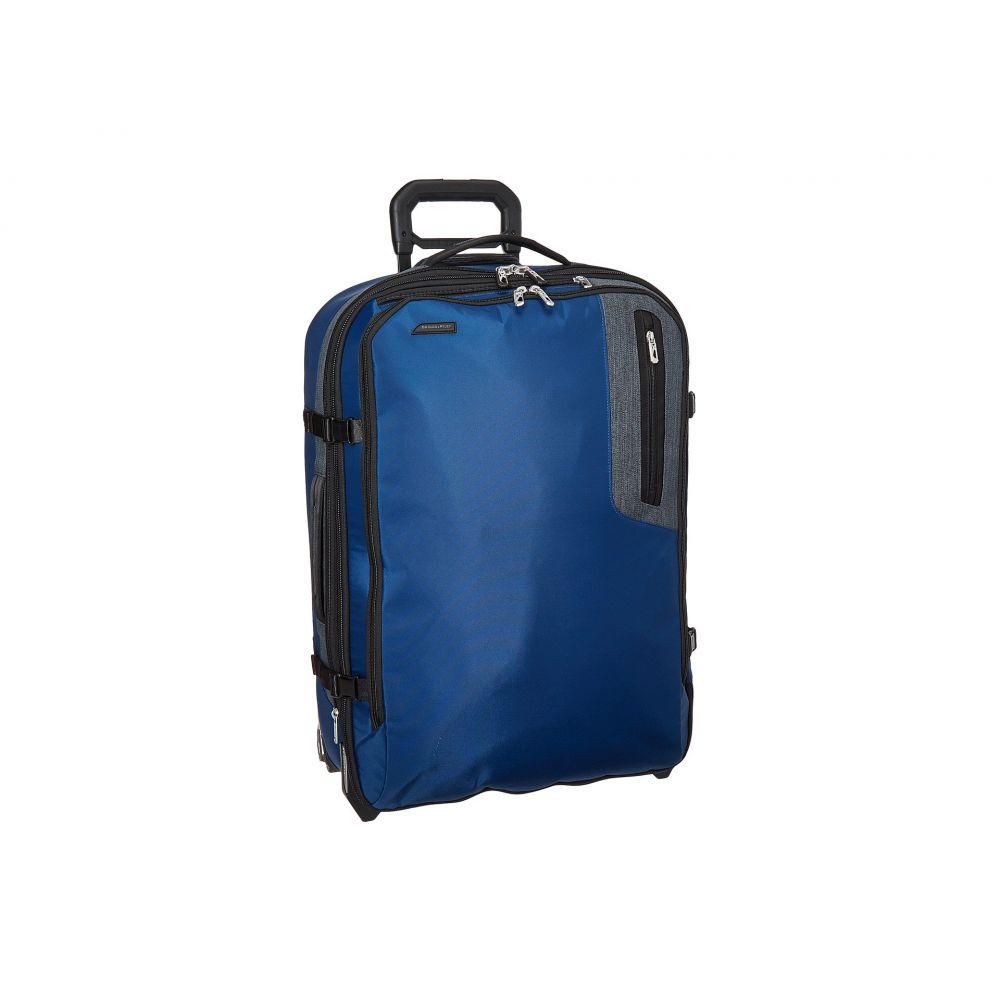 ブリッグスアンドライリー Briggs & Riley レディース バッグ スーツケース・キャリーバッグ【BRX - Explore Medium Upright】Blue