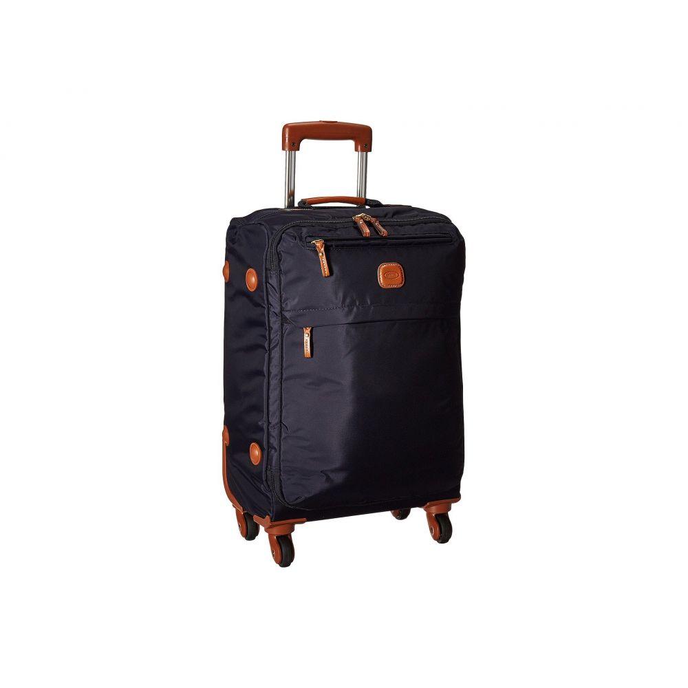 ブリックス Bric's Milano レディース バッグ スーツケース・キャリーバッグ【X-Bag 21' Carry-On Spinner w/ Frame】Navy