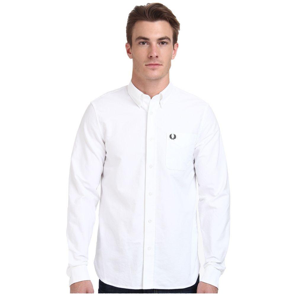 フレッドペリー Fred Perry メンズ トップス シャツ【Classic Oxford Shirt】White