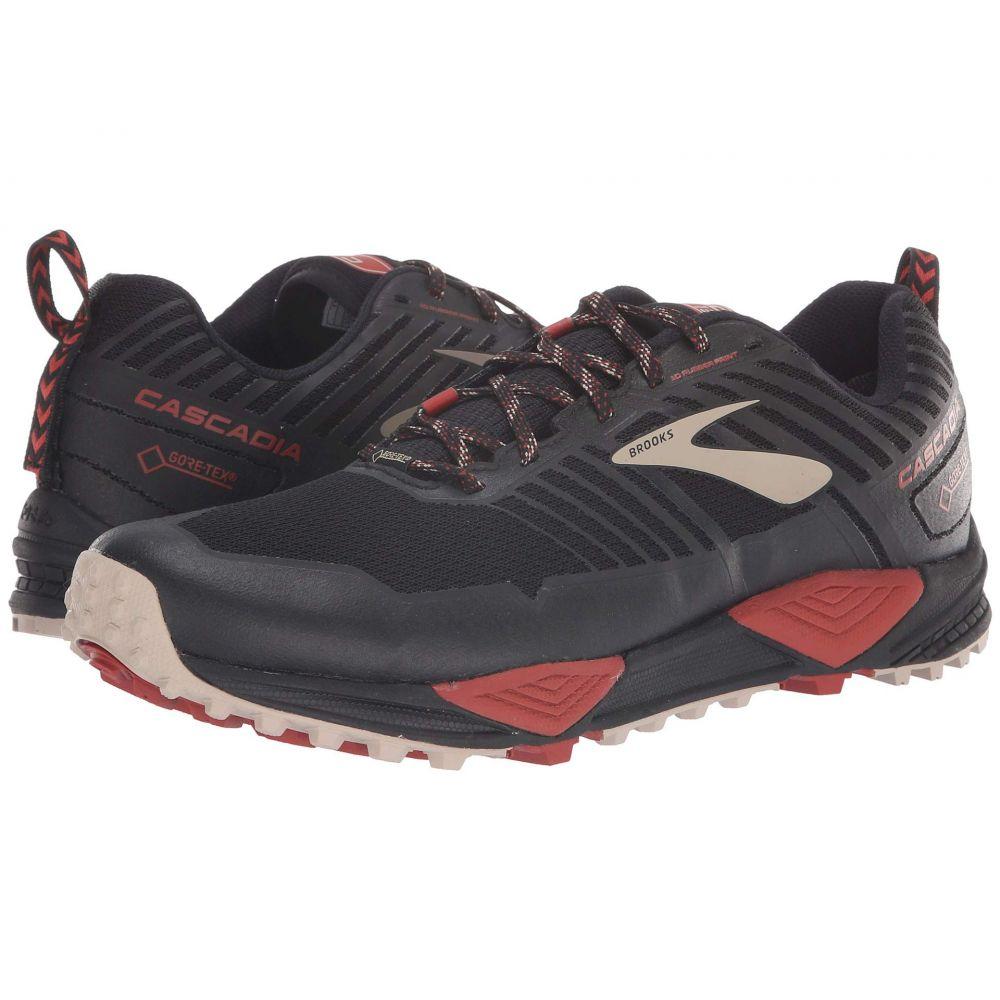 ブルックス Brooks メンズ ランニング・ウォーキング シューズ・靴【Cascadia 13 GTX】Black/Red/Tan