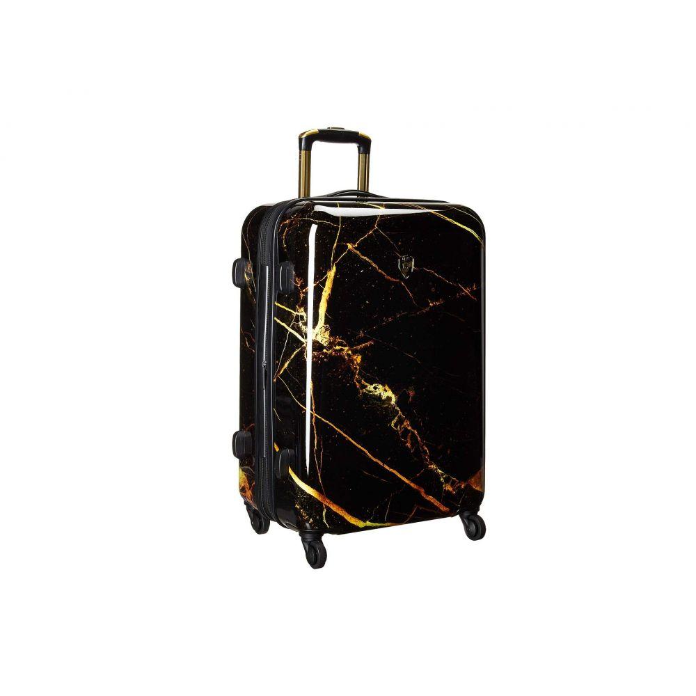 ヘイズ Heys America レディース バッグ スーツケース・キャリーバッグ【Portoro Marble 26' Spinner】Black/Gold