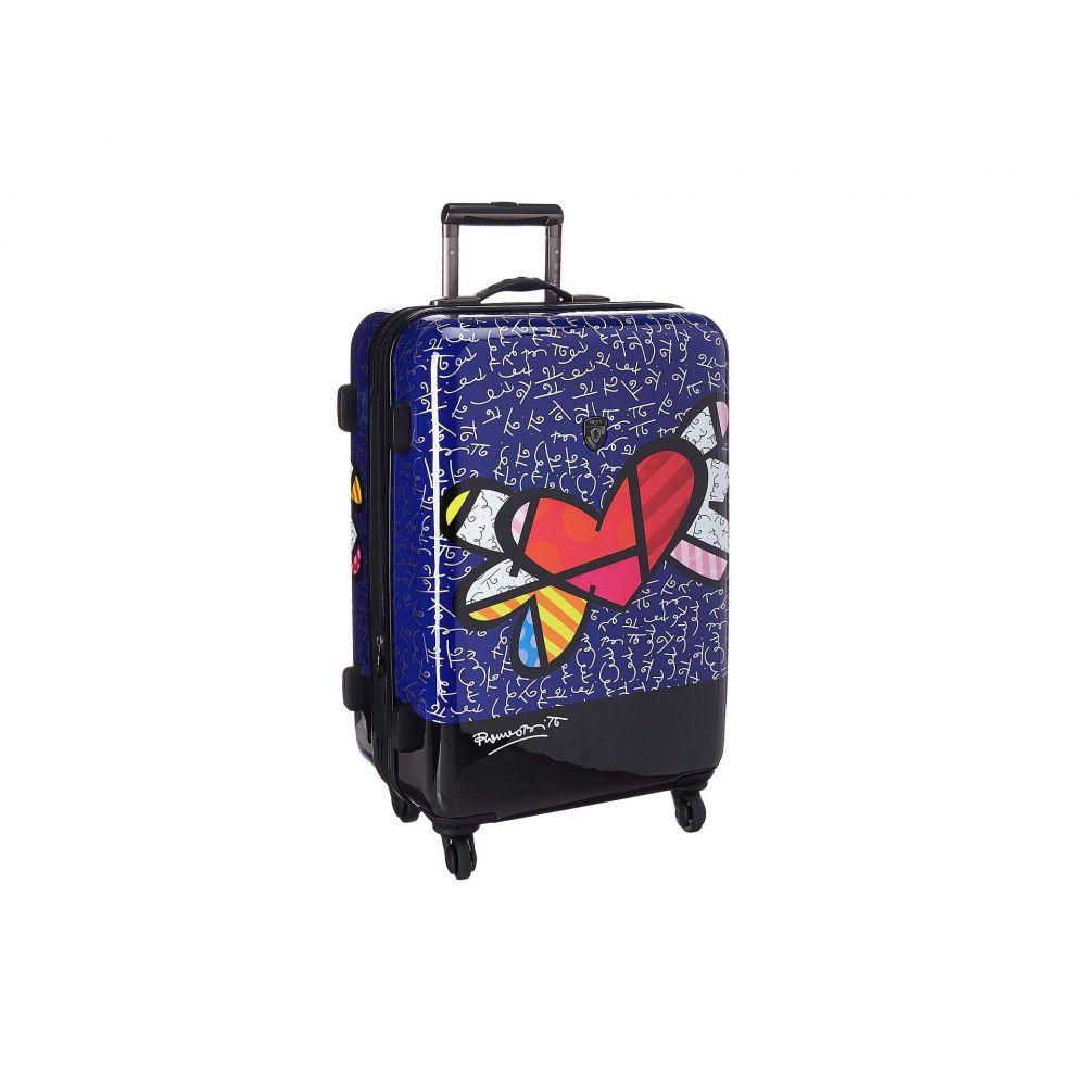 ヘイズ Heys America レディース バッグ スーツケース・キャリーバッグ【Britto Heart with Wings 26' Spinner】Multicolor