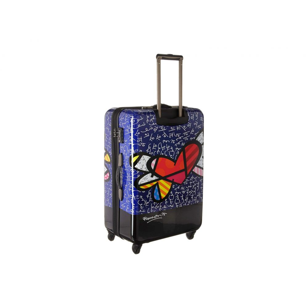 83f2595d53 レディース America Heys ヘイズ バッグ Spinner】Multicolor 30' Wings with Heart スーツケース ・キャリーバッグ【Britto-スーツケース・キャリーバッグ