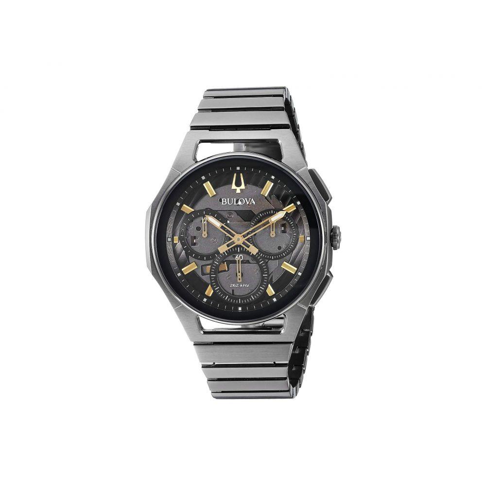 ブローバ Bulova メンズ 腕時計【Curv Bracelet - 98A206】Grey IP