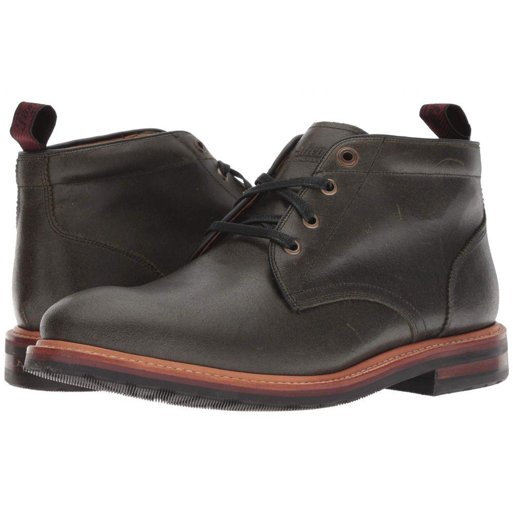 フローシャイム Florsheim メンズ シューズ・靴 ブーツ【Foundry Plain Toe Chukka Boot】Army Green CF Stead