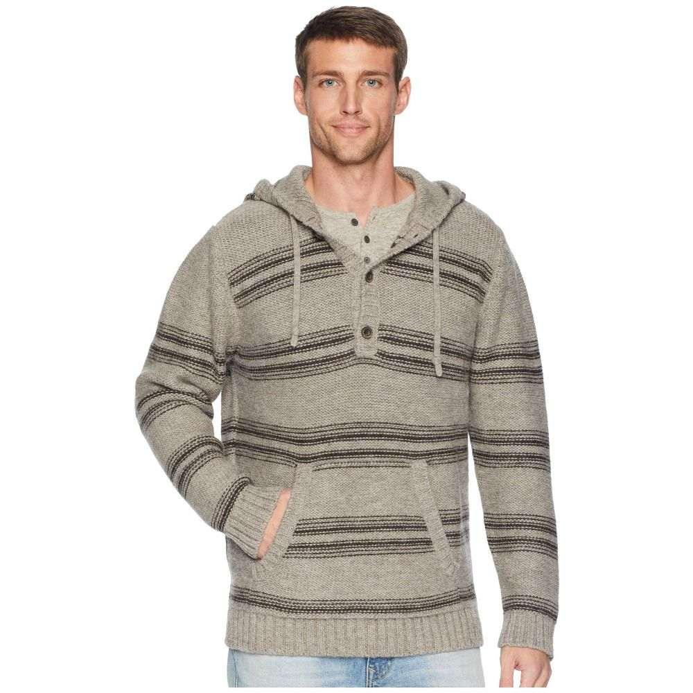 ペンドルトン Pendleton メンズ トップス ニット・セーター【Alpaca Knit Hoodie Sweater】Highland Stripe Neutral