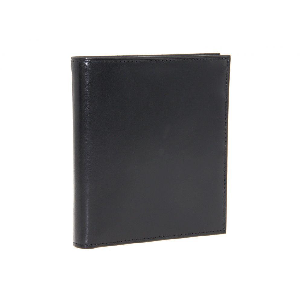 ボスカ Bosca メンズ 財布【Old Leather Collection - 12-Pocket Credit Wallet】Black Leather
