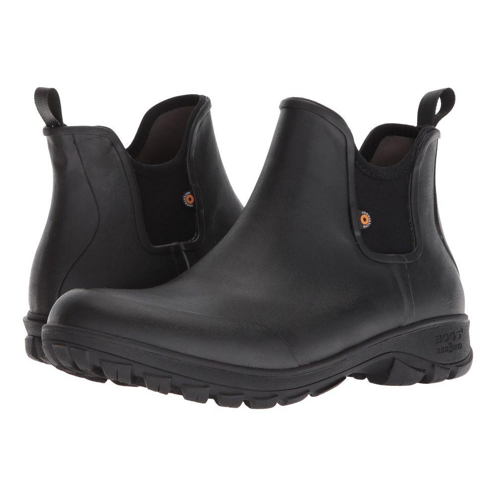 ボグス Bogs メンズ シューズ・靴 レインシューズ・長靴【Sauvie Slip-On Boot】Black