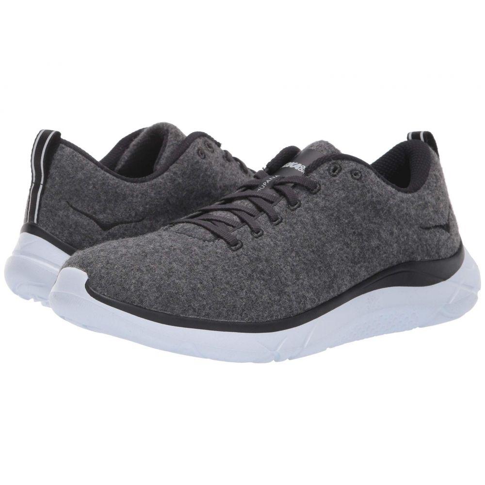 ホカ オネオネ Hoka One One メンズ ランニング・ウォーキング シューズ・靴【Hupana Wool】Neutral Gray/White