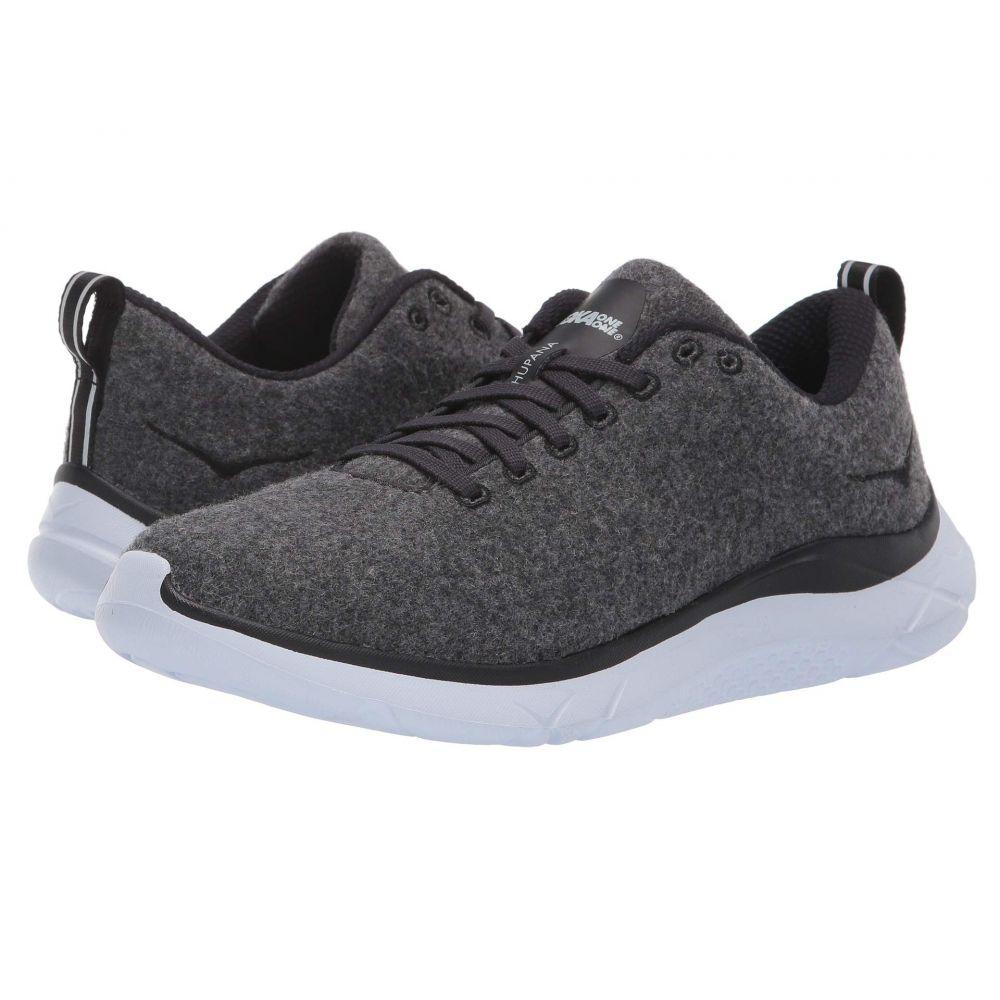 ホカ オネオネ Hoka One One レディース ランニング・ウォーキング シューズ・靴【Hupana Wool】Neutral Gray/White