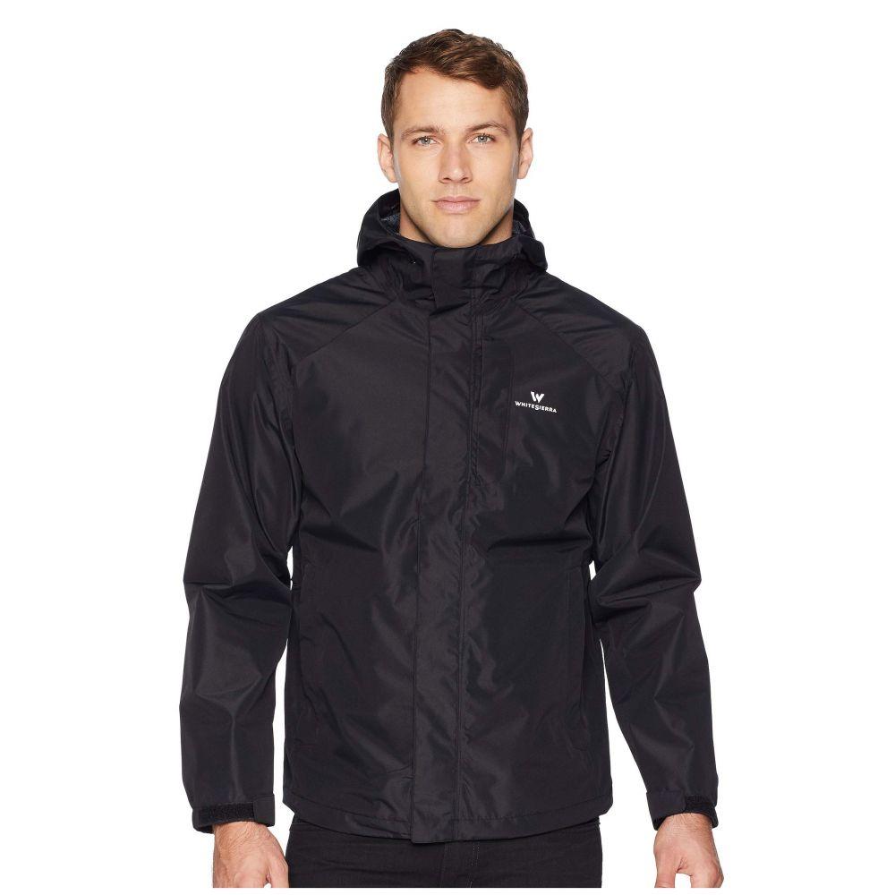 ホワイトシエラ White Sierra メンズ アウター レインコート【Sierra Guide 2.5 Layer Rain Jacket】Black