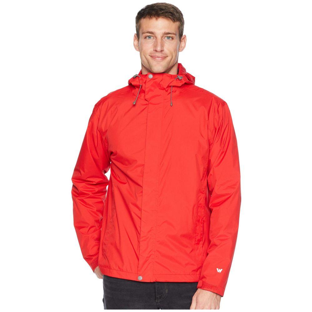 ホワイトシエラ White Sierra メンズ アウター ジャケット【Trabagon Jacket】Racing Red