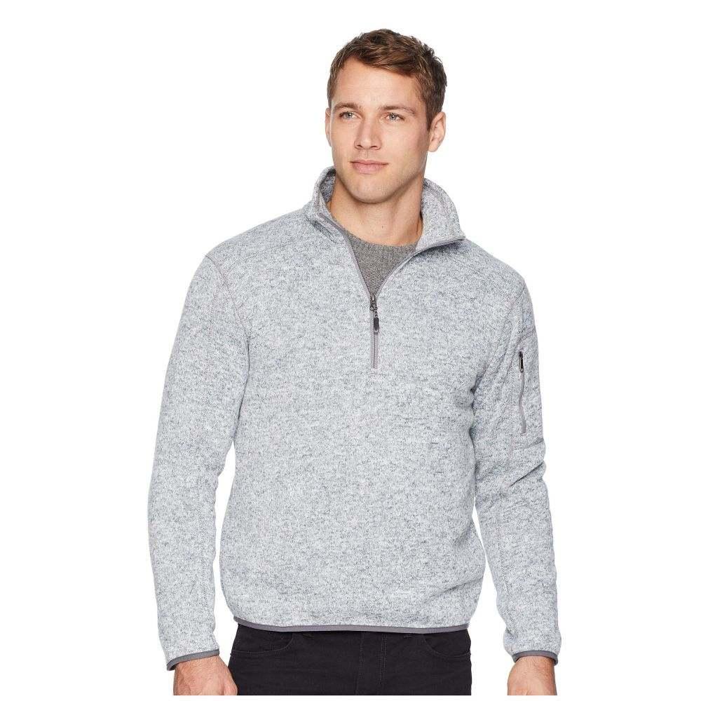 ホワイトシエラ White Sierra メンズ トップス フリース【Cloud Rest Sweater Fleece 1/4】Heather Gray