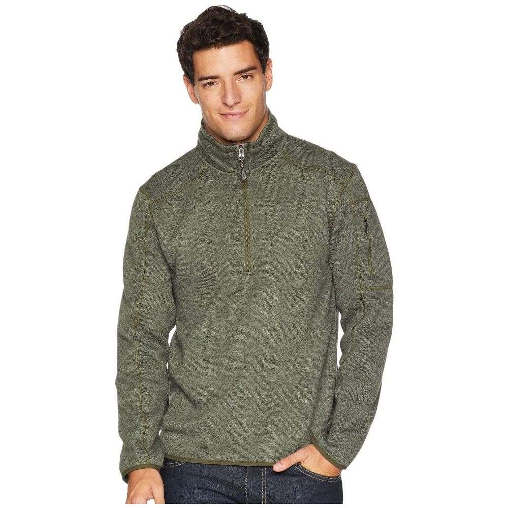 ホワイトシエラ White Sierra メンズ トップス フリース【Cloud Rest Sweater Fleece 1/4】Deep Lichen Green