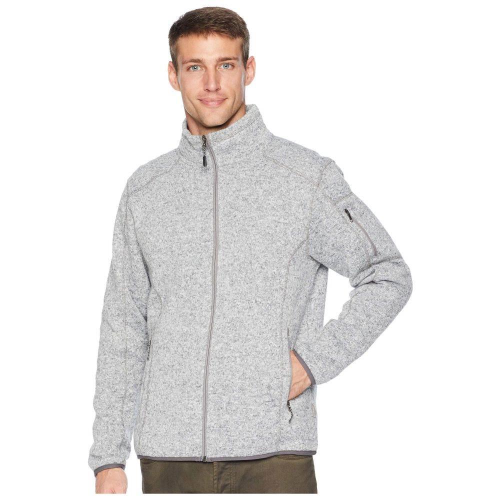 ホワイトシエラ White Sierra メンズ トップス フリース【Cloud Rest Sweater Fleece Jacket】Heather Gray