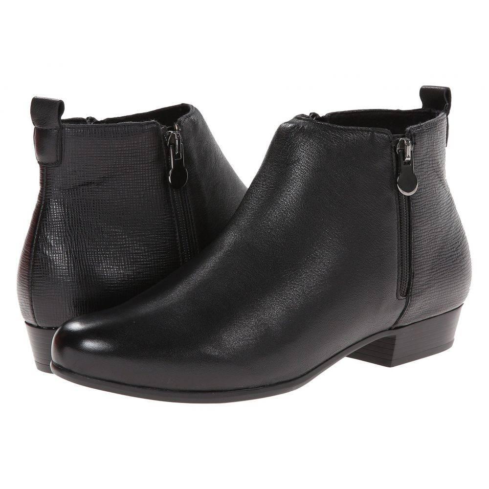マンロー Munro レディース シューズ・靴 ブーツ【Lexi】Black Leather/Print