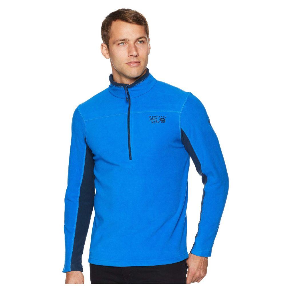 マウンテンハードウェア Mountain Hardwear メンズ トップス フリース【Microchill 2.0 Zip T】Altitude Blue