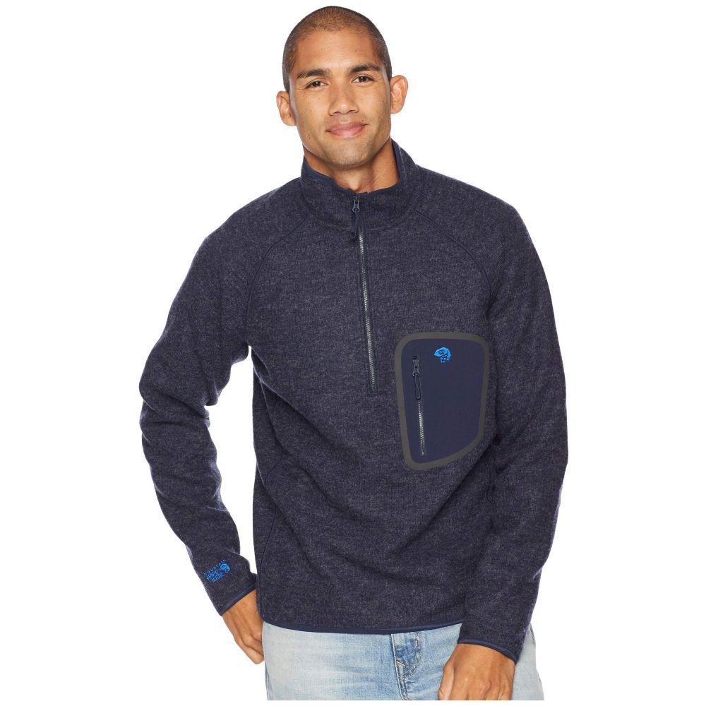 マウンテンハードウェア Mountain Hardwear メンズ トップス フリース【Hatcher(TM) 1/2 Zip Pullover】Dark Zinc