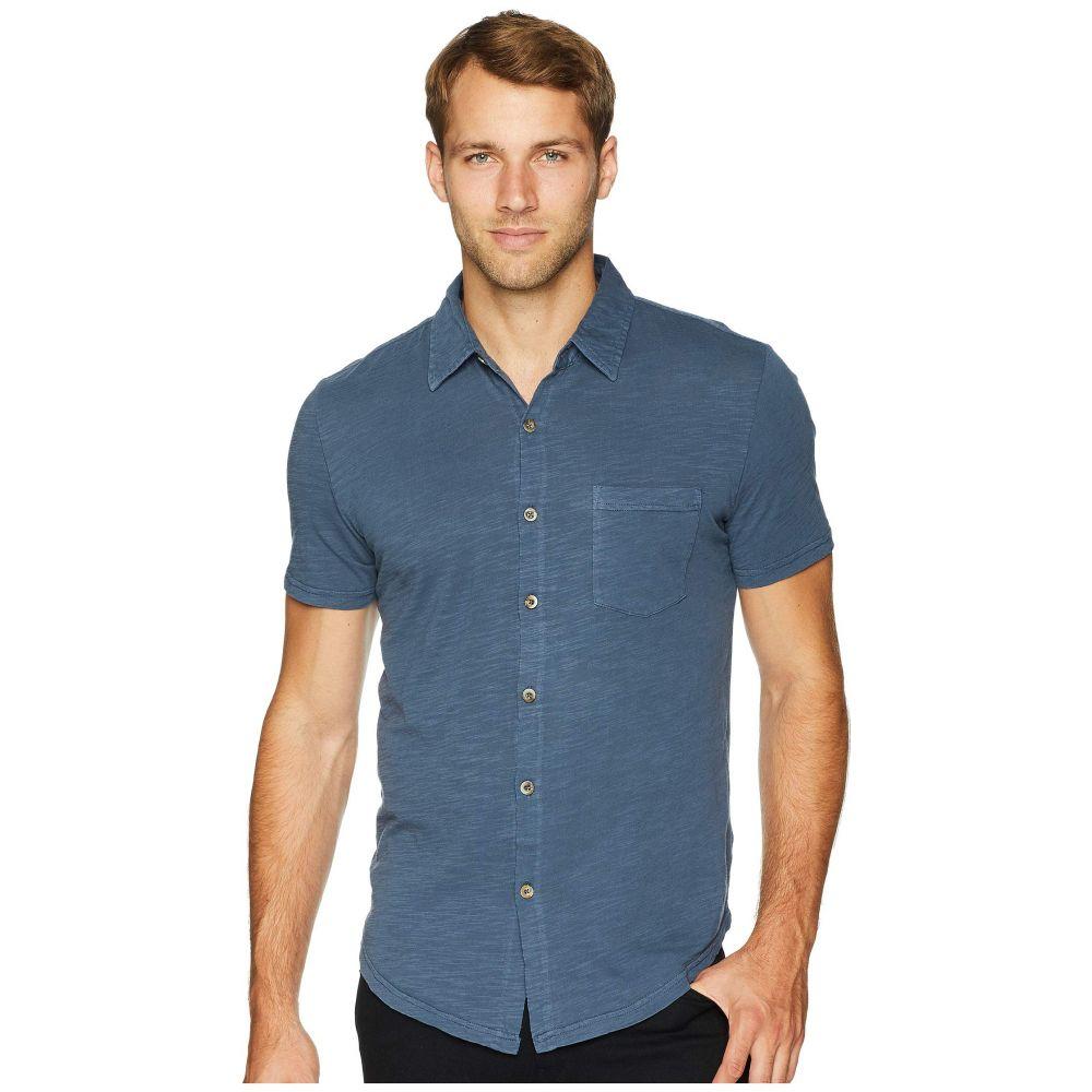 モドオードック Mod-o-doc メンズ トップス 半袖シャツ【Montana Short Sleeve Button Front Shirt】Parisian