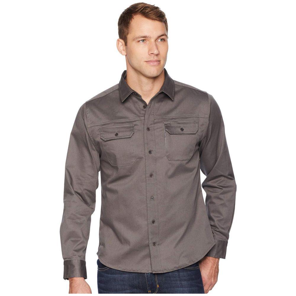 ユナイテッドバイブルー United By Blue メンズ トップス シャツ【Holt Work Shirt】Steel Grey