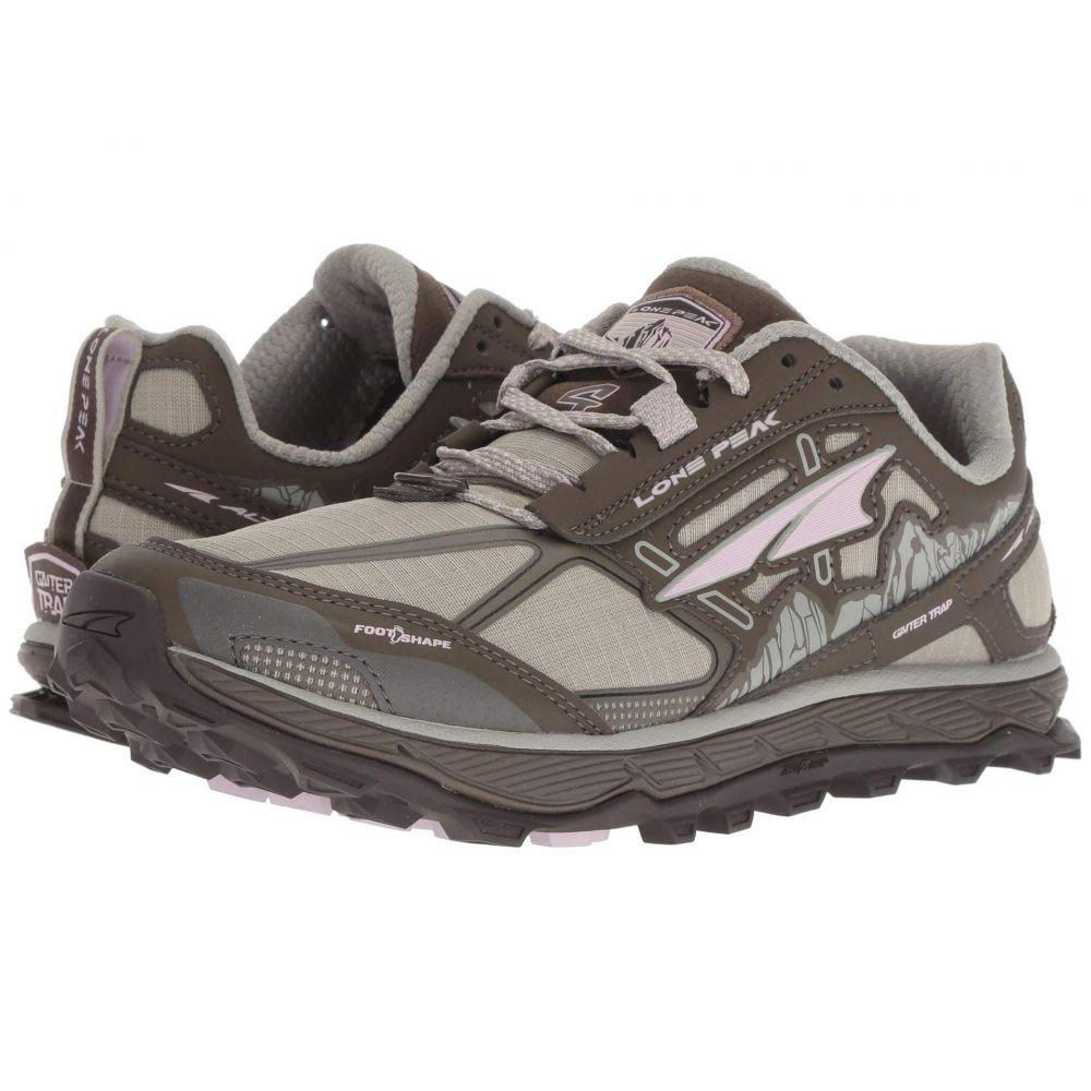 アルトラ Altra Footwear レディース ランニング・ウォーキング シューズ・靴【Lone Peak 4】Gray