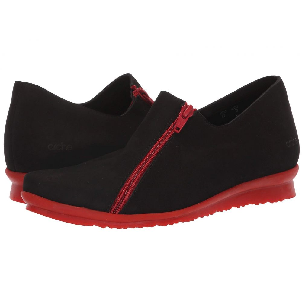 アルシュ Arche レディース シューズ・靴 ローファー・オックスフォード【Barway】Noir/Rouge