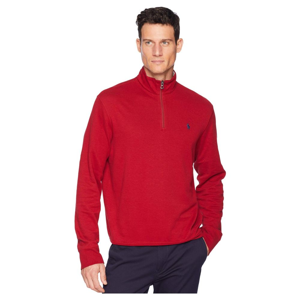 ラルフ ローレン Polo Ralph Lauren メンズ トップス【Double Knit Pullover】Eaton Red
