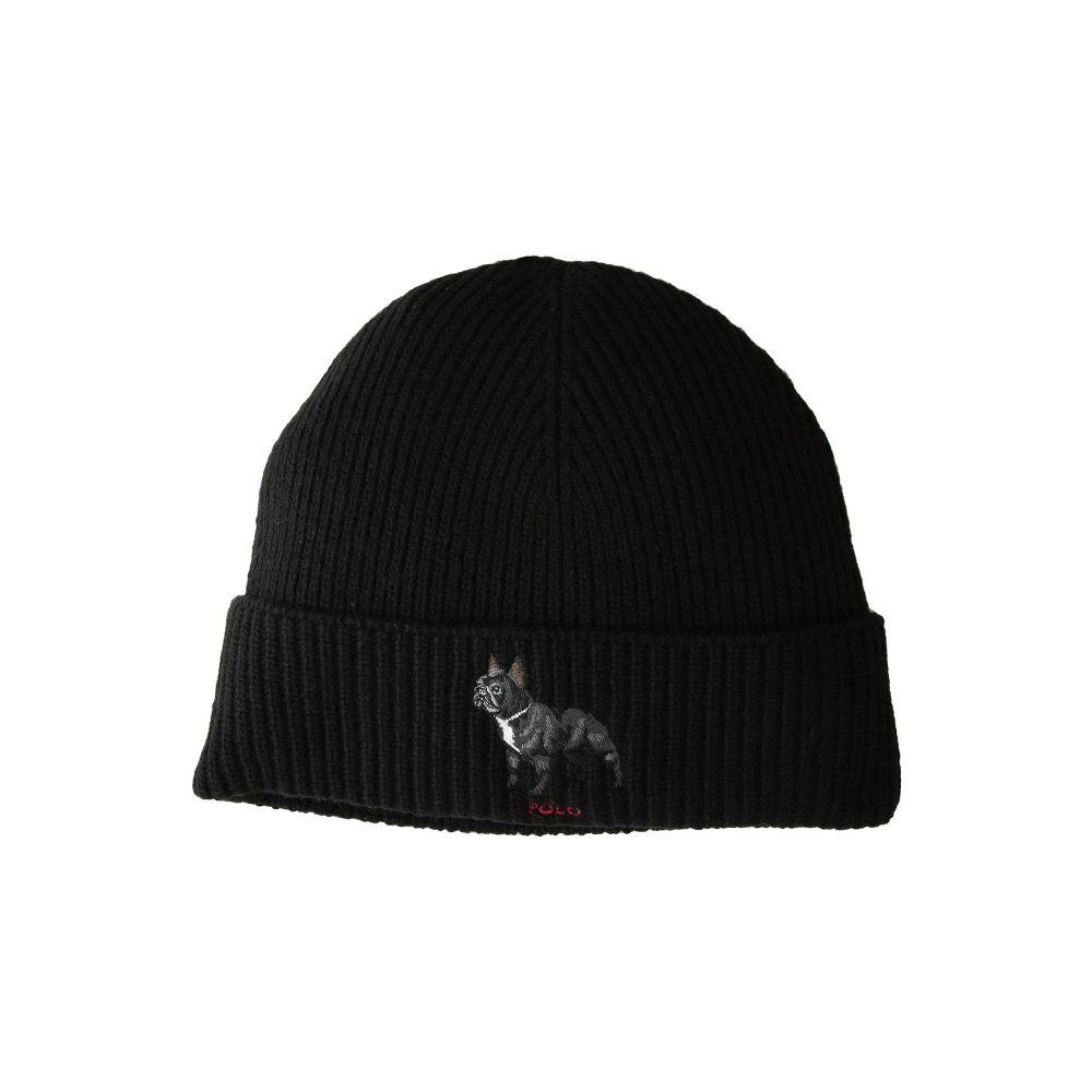 全日本送料無料 ラルフ ローレン Polo メンズ Ralph Lauren メンズ 帽子 Bulldog ニット【French Polo Bulldog Watch Cap】Polo Black, Plus Nao:d8eb9e3a --- adesigndeinteriores.com.br