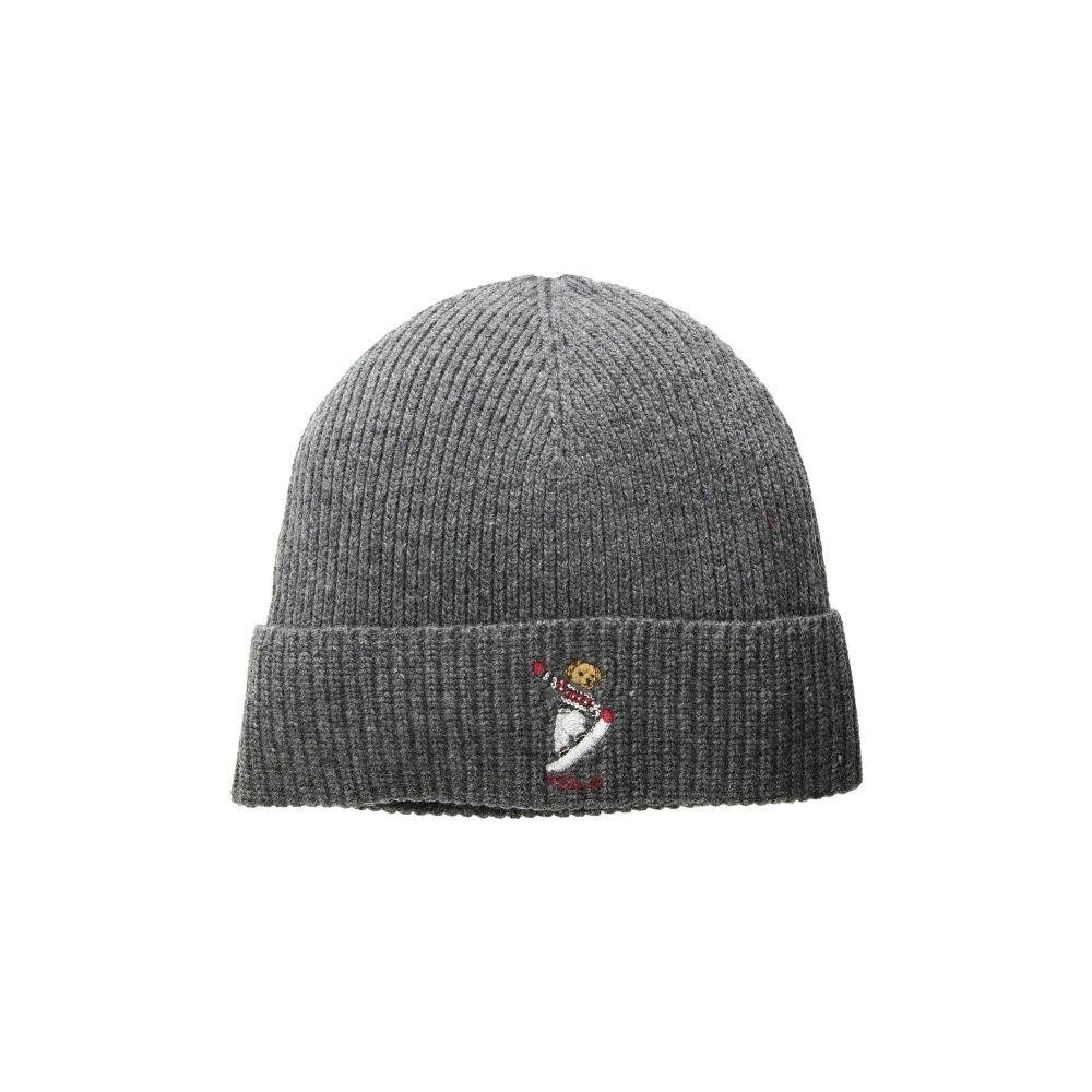 ラルフ ローレン Polo Ralph Lauren メンズ 帽子 ニット【Skate Bear Hat】Charcoal