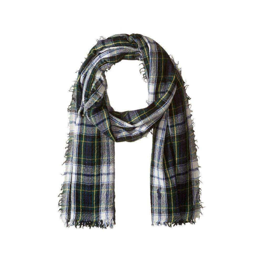 ラルフ ローレン Polo Ralph Lauren メンズ マフラー・スカーフ・ストール【Vintage Wool Tartans Scarf】Dress Gordon