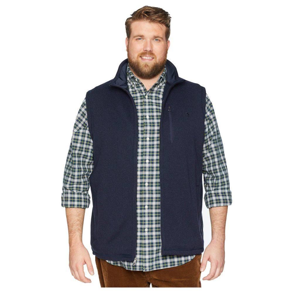 ラルフ ローレン Polo Ralph Lauren メンズ トップス ベスト・ジレ【Big &Tall Sweater Fleece Vest】Aviator Navy