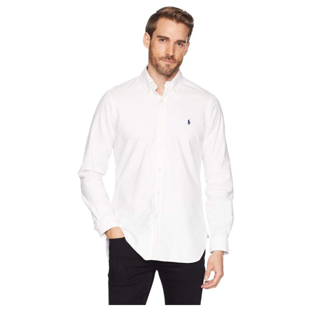 ラルフ ローレン Polo Ralph Lauren メンズ トップス シャツ【Classic Fit Brushed Oxford】White