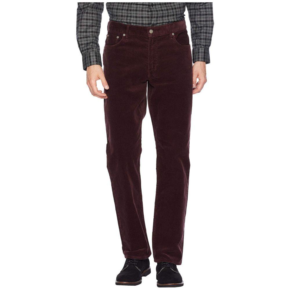 ラルフ ローレン Polo Ralph Lauren メンズ ボトムス・パンツ【Washed Stretch Corduroy Prospect Pants】Vintage Burgundy