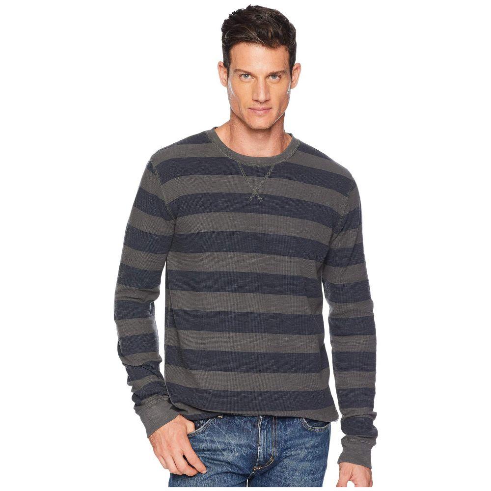ラッキーブランド Lucky Brand メンズ トップス Tシャツ【Thermal Stripe Overdye Tee】Multi