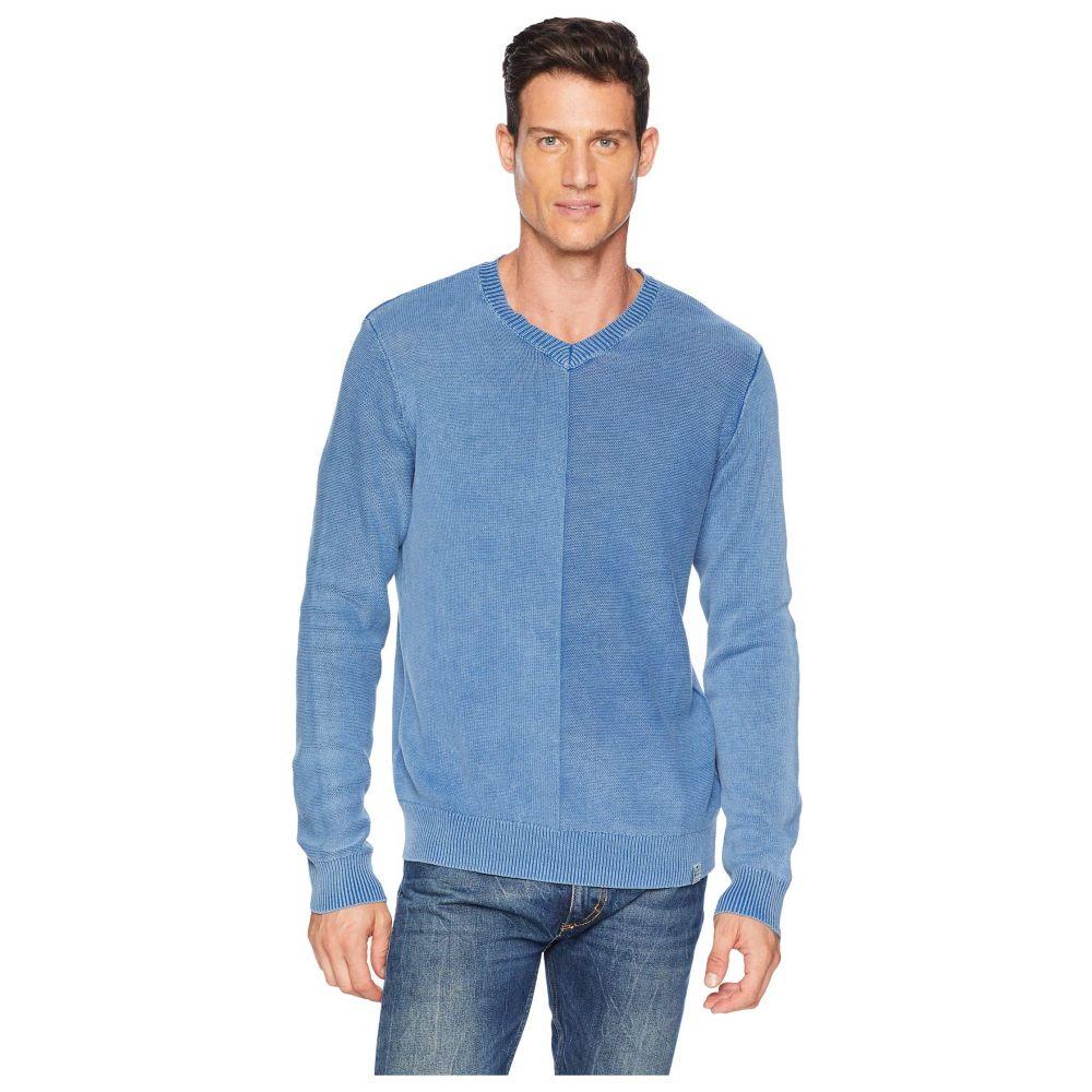 ラッキーブランド Lucky Brand メンズ トップス ニット・セーター【Washed V-Neck Sweater】Limoges