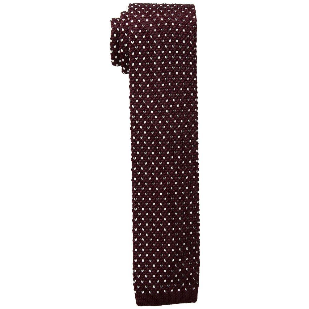 ラルフ ローレン LAUREN Ralph Lauren メンズ ネクタイ【Birdseye Knit Tie】Dark Red