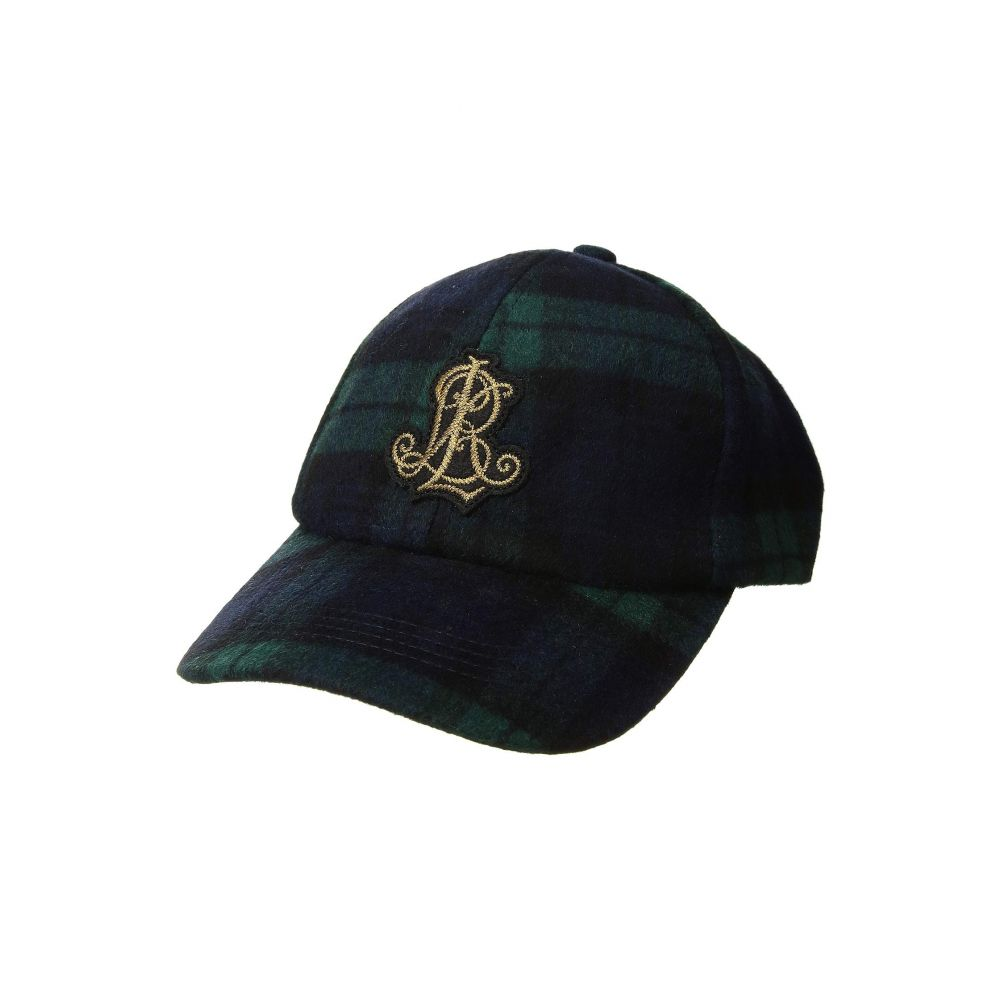 ラルフ ローレン LAUREN Ralph Lauren レディース 帽子 キャップ【Tartan Baseball w/ Crest Patch】Blackwatch
