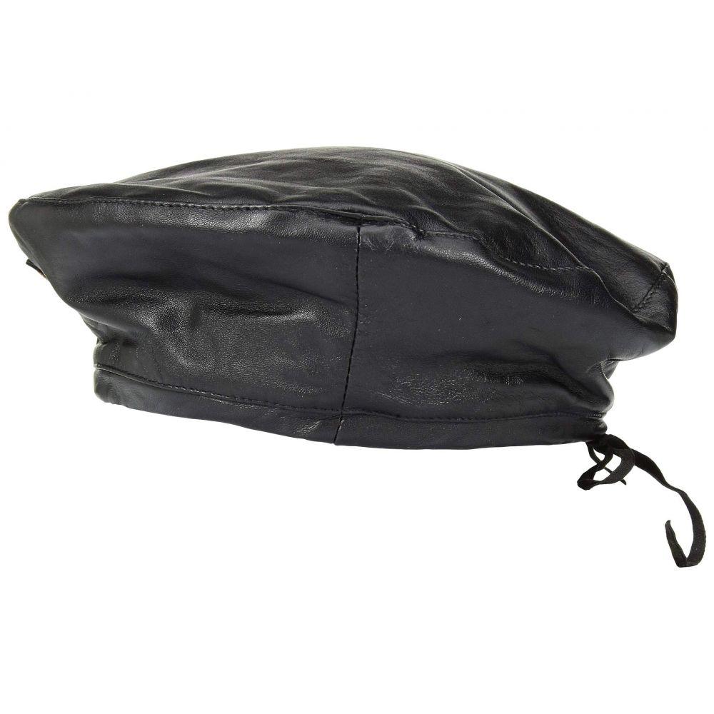 ラルフ ローレン Polo Ralph Lauren レディース 帽子【Leather Beret】Black