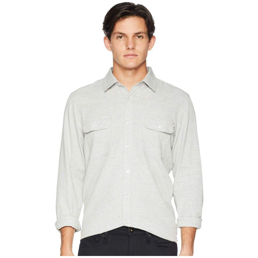 リップカール Rip Curl メンズ トップス シャツ【Logan Long Sleeve Flannel】Off-White