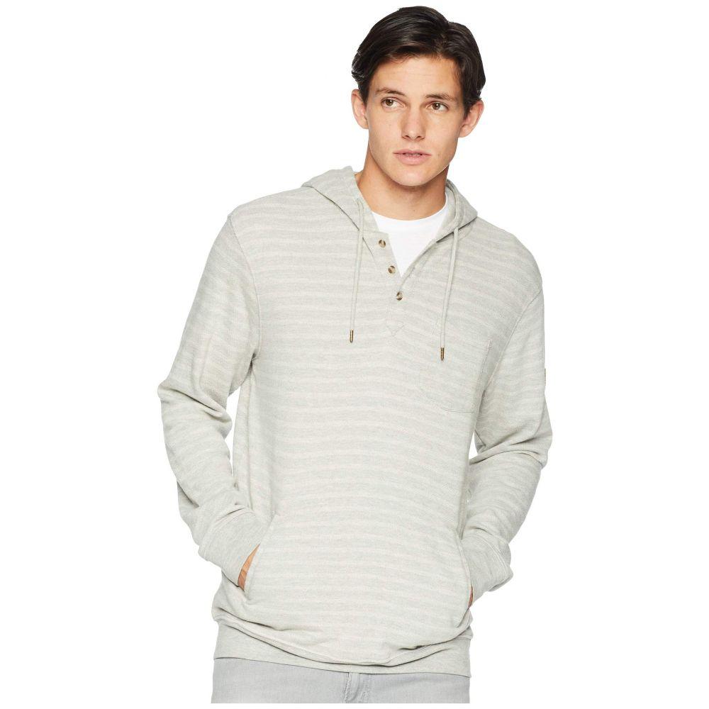 リップカール Rip Curl メンズ トップス フリース【Woodward Hooded Fleece】Medium Grey