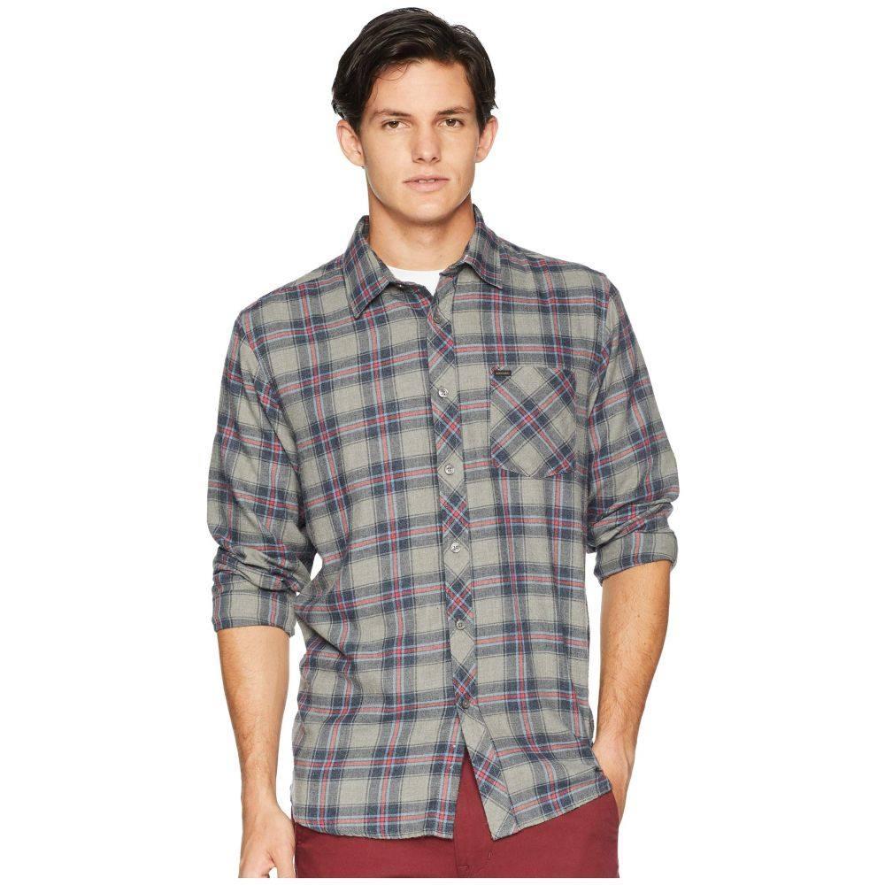 リップカール Rip Curl メンズ トップス シャツ【Dayton Long Sleeve Shirt】Navy