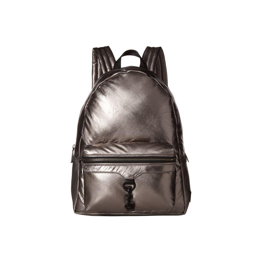 レベッカ ミンコフ Rebecca Minkoff レディース バッグ バックパック・リュック【Riley Puffy Backpack】Silver