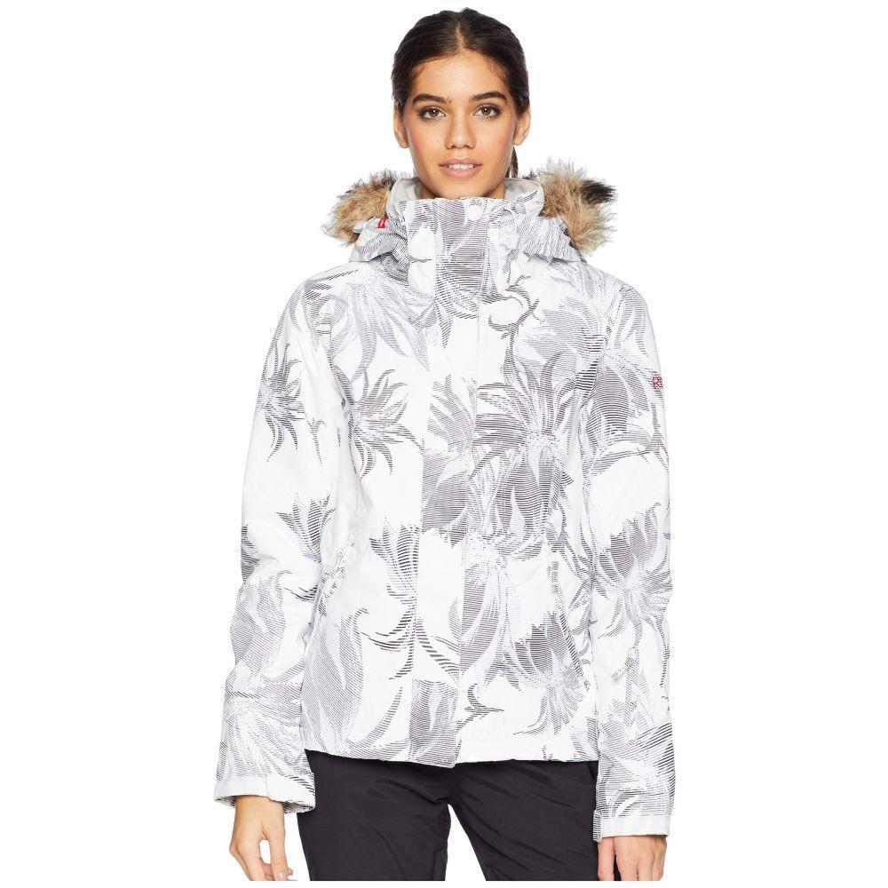 ロキシー Roxy レディース スキー・スノーボード アウター【Jet Ski 10K Jacket】Bright White Swell Flowers