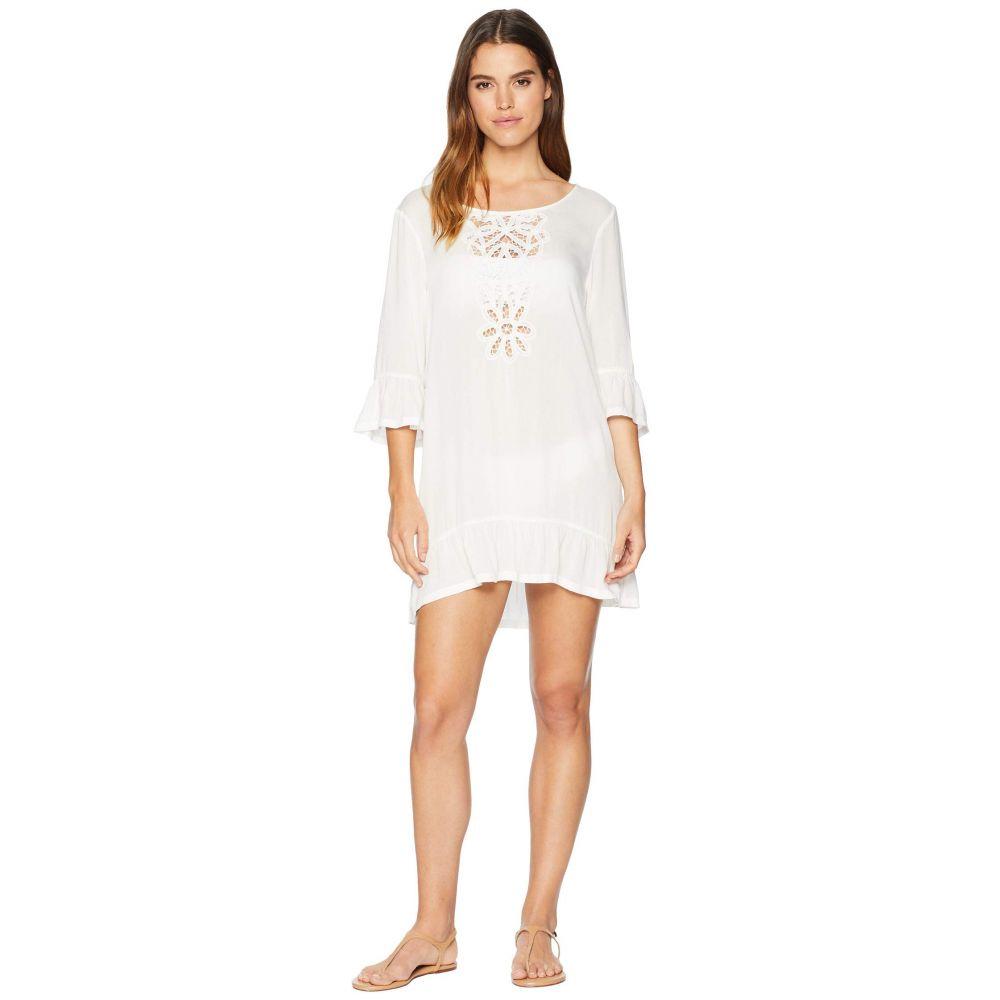 ロキシー Roxy レディース 水着・ビーチウェア ビーチウェア【Goldy Soul Long Sleeve Dress Cover-Up】Marshmallow