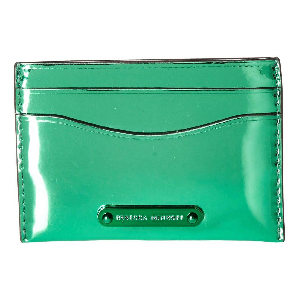 レベッカ ミンコフ Rebecca Minkoff レディース カードケース・名刺入れ【Card Case】Green