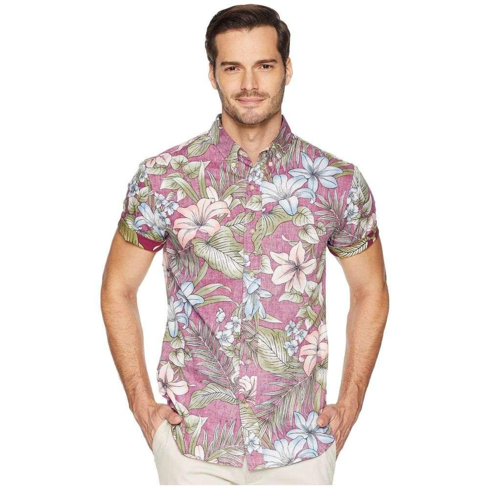 レインスプーナー Reyn Spooner メンズ トップス シャツ【Uluwehi Tailored Hawaiian Shirt】Plum