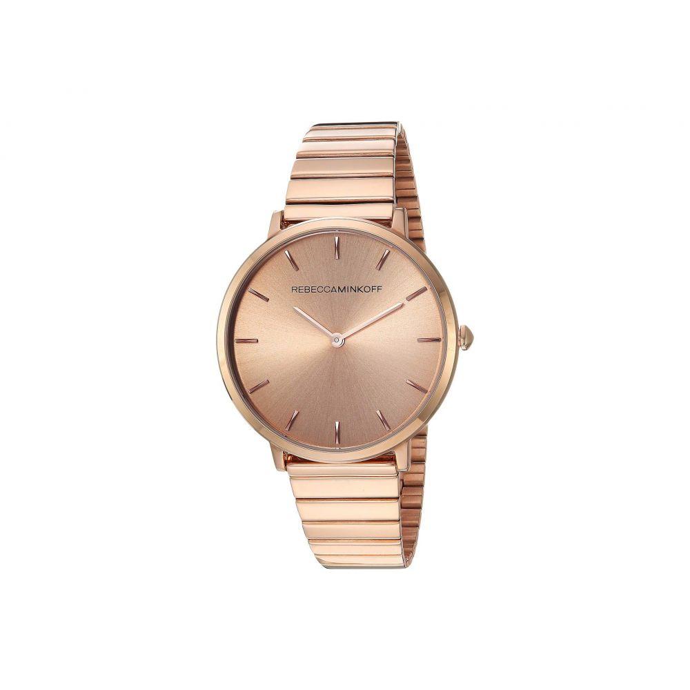 レベッカ ミンコフ Rebecca Minkoff レディース 腕時計【Major - 2200021】Rose Gold