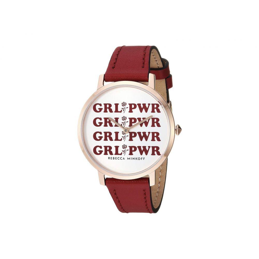 レベッカ ミンコフ Rebecca Minkoff レディース 腕時計【Major - 2200274】Multi
