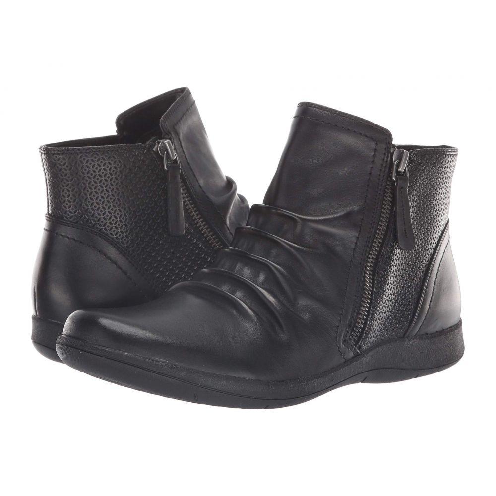 ロックポート Rockport レディース シューズ・靴 ブーツ【Daisey Panel Boot】Black Leather